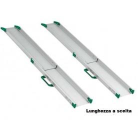 RAMPE A BINARIO PER DISABILI TELESCOPICHE - COPPIA - All Mobility