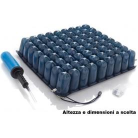 CUSCINO ANTIDECUBITO A BOLLE D'ARIA - PVC - 2 SEZIONI - Moretti