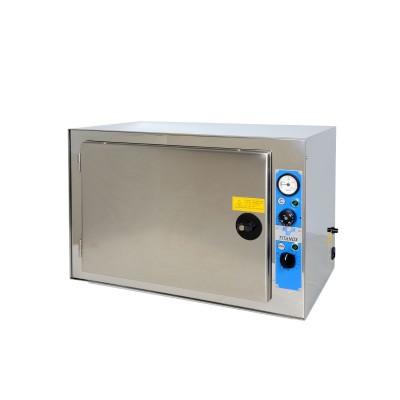 STERILIZZATRICE A SECCO TERMOVENTILATA - PIANI REGOLABILI - 20 litri - Gima Mod. Titanox