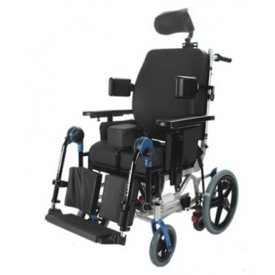 CARROZZINA / SEGGIOLONE POLIFUNZIONALE - DA TRANSITO - Wimed Mod. Concept 2 - Dim. Seduta: 45 cm