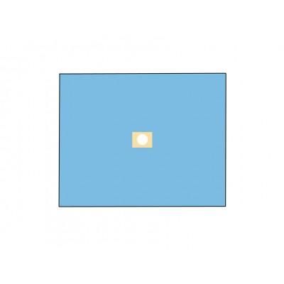 TELO CHIRURGICO STERILE IN TNT - 120 x 150 cm - con foro Ø 10 cm - Conf. 25 pz