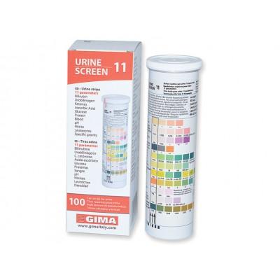 STRISCE URINE - 11 PARAMETRI - 1 Flacone da 100 pz - Gima