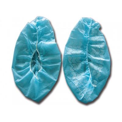 COPRISCARPE MONOUSO - FASCIA ELASTICA - Azzurro - Conf. 100 pz