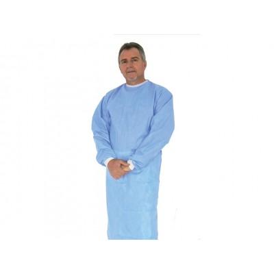 CAMICE CHIRURGICO MONOUSO - azzurro - sterile - XL - conf. da 20 camici