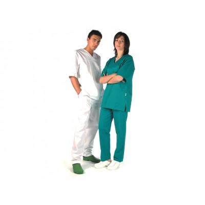 CASACCA MEDICALE IN COTONE - Colore Bianco - Misura Large