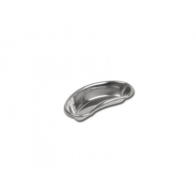BACINELLA RENIFORME INOX - bordo alto - 162 x 77 x 31 mm