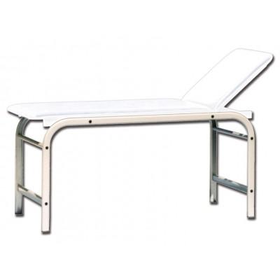 LETTINO MEDICO DA VISITA KING - bianco - 190x60x80 Cm