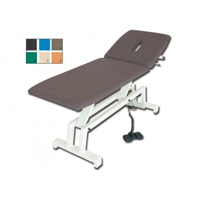 LETTINO MEDICO GIMA ELETTRICO PER TRATTAMENTI - colore a richiesta - 193x68x64/89 Cm
