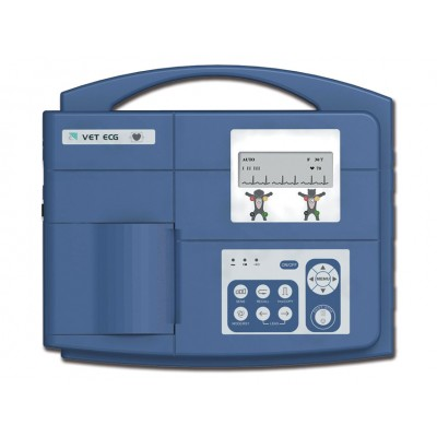 ELETTROCARDIOGRAFO VETERINARIO - 3 CANALI - DISPLAY LCD - VE-300