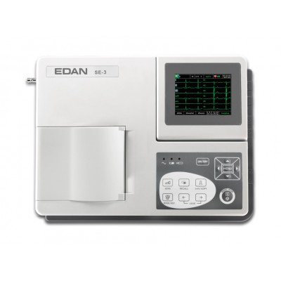 ECG ELETTROCARDIOGRAFO A 3 CANALI - MONITOR A COLORI INTERPRETATIVO - Mod. Smart SE-3C