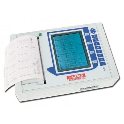 ELETTROCARDIOGRAFO ECG PORTATILE 3-6-12 canali con interpretazione - CARDIOGIMA 6M