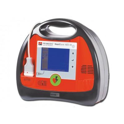 DEFIBRILLATORE HEART SAVE AED-M - CON MONITOR - Multilingua