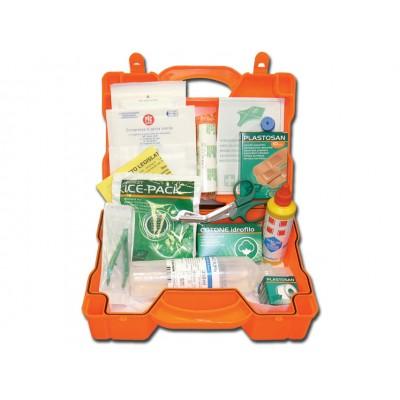 KIT PRONTO SOCCORSO - ALL. 2 - valigetta plastica - PER AZIENDE CON 2 LAVORATORI