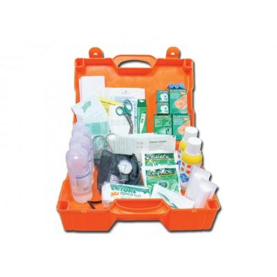KIT PRONTO SOCCORSO ALL. 1 - valigetta plastica - PER AZIENDE CON 3 O PIU LAVORATORI