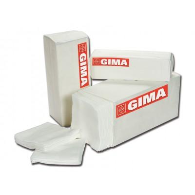 COMPRESSE GARZA TNT 10 x 10 cm - 4 strati - 1.000 pezzi - Gima 35012