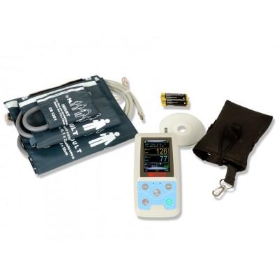 HOLTER PRESSORIO ABPM - 24H / 24 ORE - 3 bracciali S-M-L inclusi + Software (inglese)