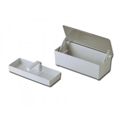 VASCHETTA STERILIZZAZIONE A FREDDO - 1.5 litri 26x12xh 8 cm