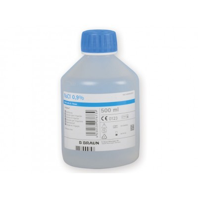 SOLUZIONE SALINA - STERILE - B-BRAUN ECOTAINER - 500 ml - Conf. 10pz