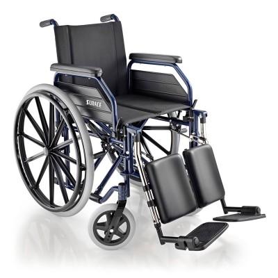 SEDIA A ROTELLE / CARROZZINA DISABILI AD AUTOSPINTA - Dim. Seduta 43 Cm. - Mod.SURACE 500