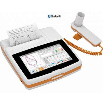SPIROMETRO PORTATILE TOUCH SCREEN - BLUETOOTH - MIR Spirolab 7