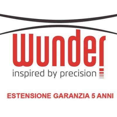 ESTENSIONE GARANZIA - 5 ANNI - BILANCE WUNDER - WJ600/WJ1500/WJ3000/WJ6000