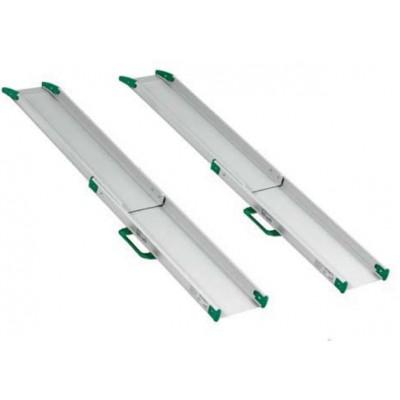 RAMPE PER DISABILI TELESCOPICHE - COPPIA - Lunghezza max/min 150/92,7cm