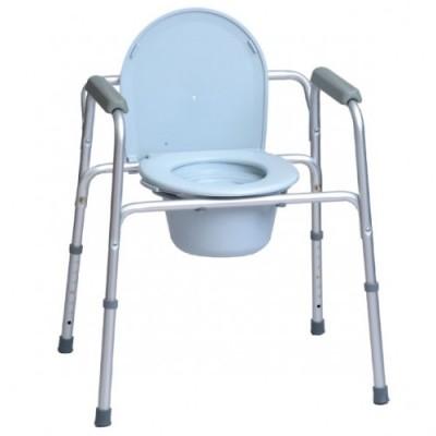 SEDIA COMODA - 3 FUNZIONI: Comoda wc, rialzo wc e sedia doccia