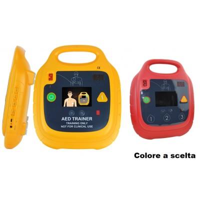 DEFIBRILLATORE TRAINER AED - PIASTRE ADULTI, PEDIATRICHE - USO DIDATTICO