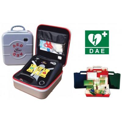 DEFIBRILLATORE SEMIAUTOMATICO LIFE POINT Pro AED - Piastre adulti