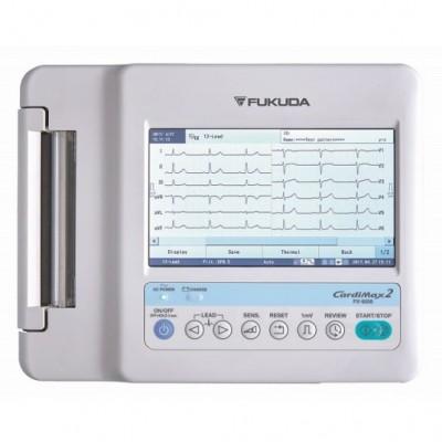 ELETTROCARDIOGRAFO ECG FUKUDA DENSHI FX-8200 3-6 CANALI A 12 DERIVAZIONI