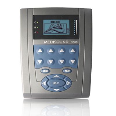 MEDISOUND 3000 - Ultrasuono Professionale a 2 Frequenze di Emissione: 1MHZ – 3 MHZ