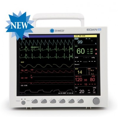 "MONITOR PAZIENTE MULTIPARAMETRO - DISPLAY 12,1"" - CO2 RESPIRONICS+IBP"