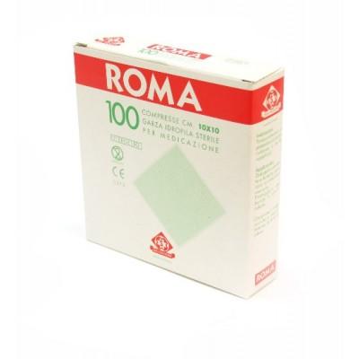 COMPRESSA DI GARZA STERILE - 10x10 cm - 100 pezzi - Moretti