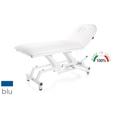 LETTINO PER VISITA MEDICA IDRAULICO - MORETTI Mod.Lytus - Piano da 90cm - Colore BLU