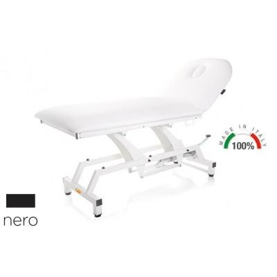 LETTINO PER VISITA MEDICA IDRAULICO - MORETTI Mod.Lytus - Piano da 90cm - Colore NERO