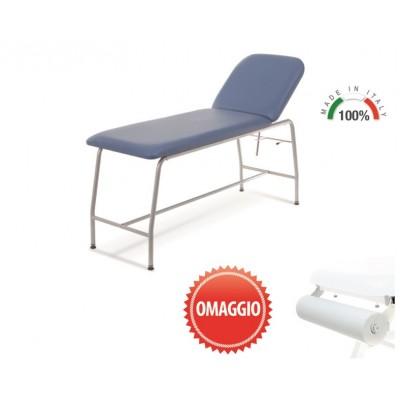 LETTINO MEDICO DA VISITA - LYBRA - VERNICIATO - PORTAROTOLO - Blu