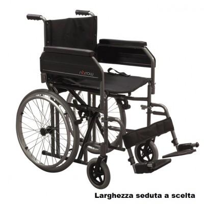 CARROZZINA AD AUTOSPINTA PIEGHEVOLE - INGOMBRO RIDOTTO - Mod. Narrow
