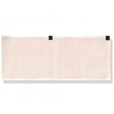 CARTA TERMICA ECG - griglia arancione - 110 mm x 140 m - conf. 20 pacchi