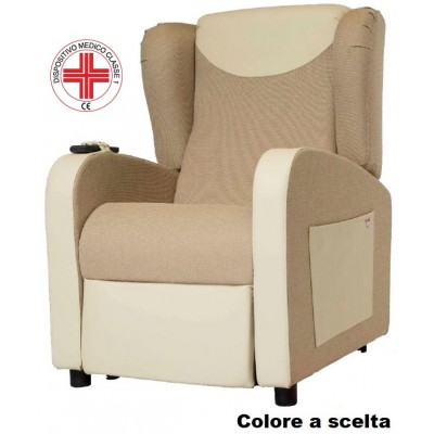 POLTRONA RELAX A 2 MOTORI - ROLLER SYSTEM - NADIA PROFESSIONAL