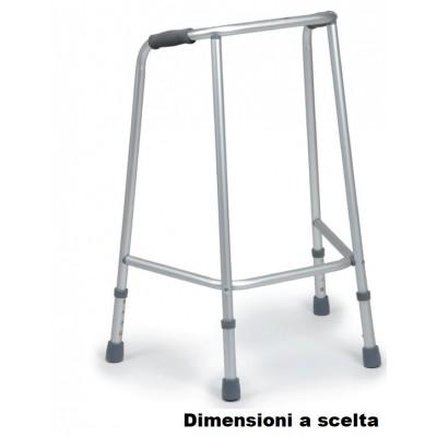 DEAMBULATORE FISSO A 4 PUNTALI REGOLABILE - Moretti RP729